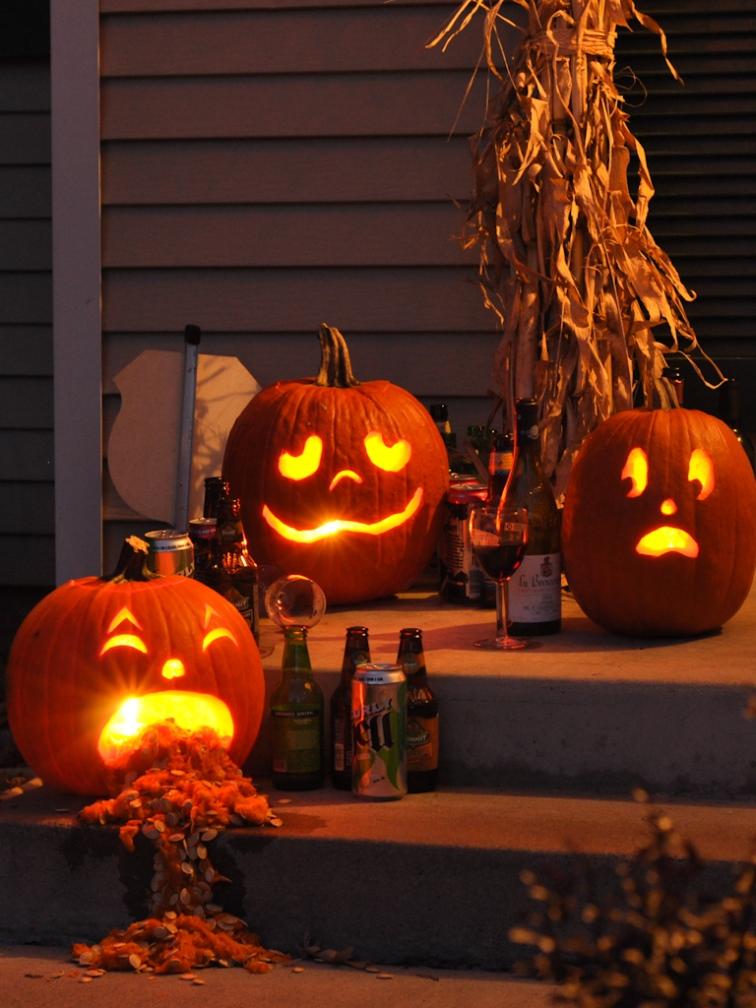 Drunk Pumpkins